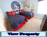 Windsor Hills Rental 6 Bedroom Home with Mickey Themed Bedroom
