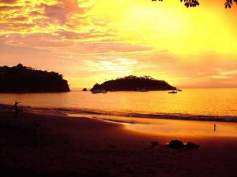 Sunset at Playa Ocotal, Costa Rica
