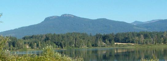 Somenos Lake & Mt Prevost