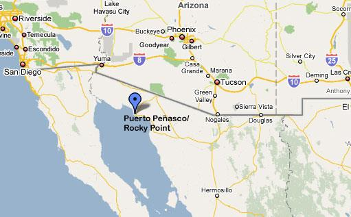 Rocky Point Maps   Rocky Point Greg with Rocky Point Real Estate