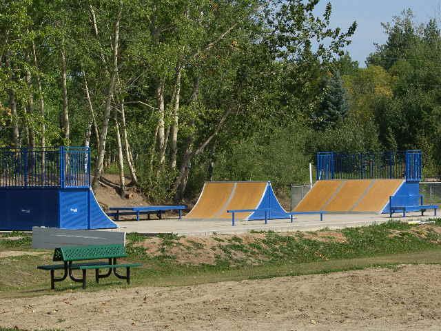Sangudo Community playground - skate board park