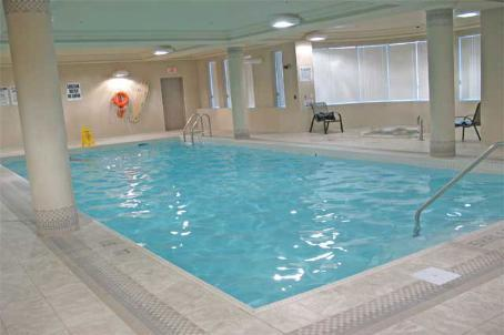 Papillon Place condominium indoor pool