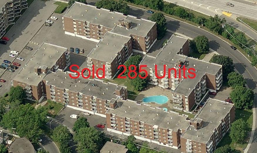 285 units