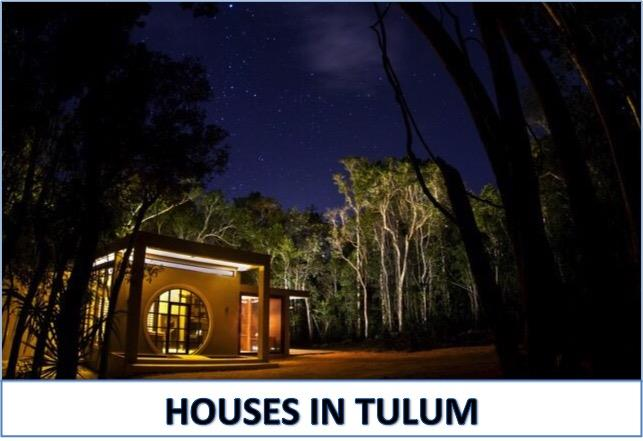 Tulum real estate - Moskito houses in Tulum for sale