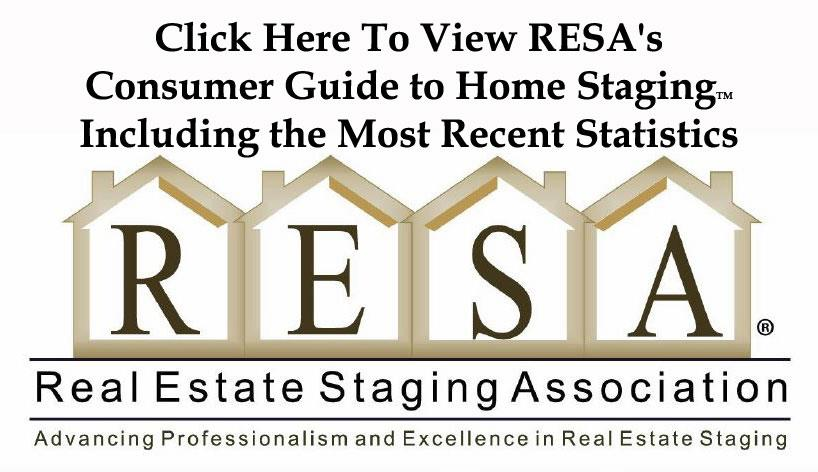 RESA Counsumer Guide to Home Staging and Statistics Link