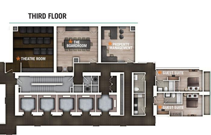 70 Temperance Floor Plans
