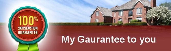 My Gaurantee to you
