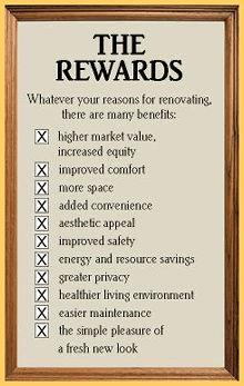 The Rewards from Renovating.  www.LisaTollis.ca Hamilton Ontario Realtor