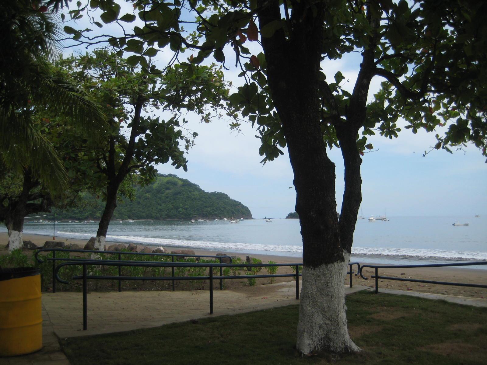Boardwalk in Playas del Coco, Costa Rica