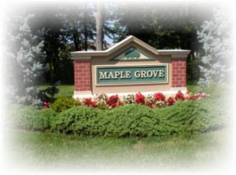 Maple Grove Condos and Townhouses Complex in Piscataway New Jersey
