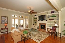 Charlotte Living Room after staging