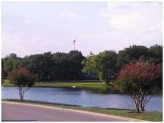 This lake adds to the beauty of the Onion Creek Austin neighborhood!