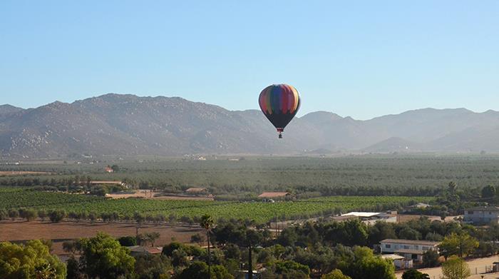 Hot Air Balloon in Ensenada