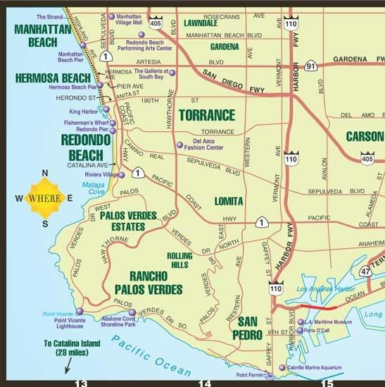 South Bay Map