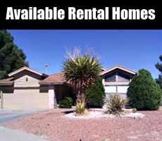 View Available Rental Homes in El Paso TX
