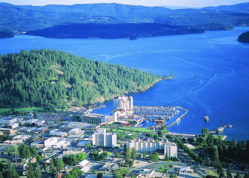 Coeur d'Alene City by the Lake