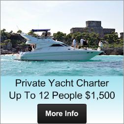 Yacht Rental Puerto Aventuras