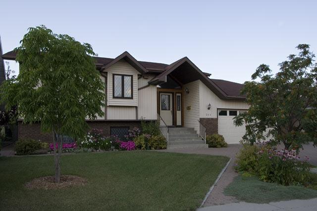 Typical homes found in Silverwood Heights, Saskatoon