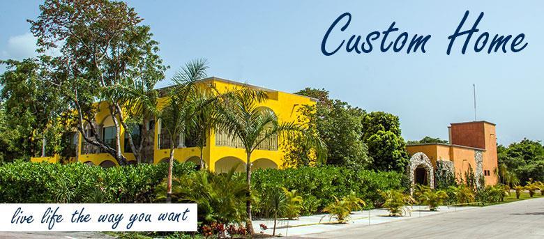 Custom Home & Condos Playa del Carmen