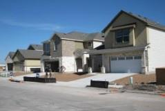 New homes going up in The Hollow at Slaughter Creek subdivision in South Austin!