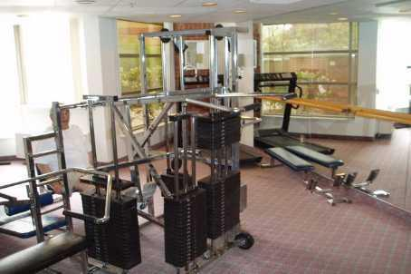 Fairmont condominium exercise room