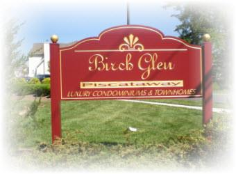 Birch Glen Condos and Townhouses Community in Piscataway New Jersey