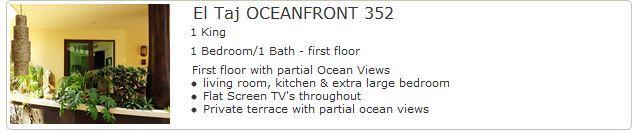 El Taj Oceanfront 352