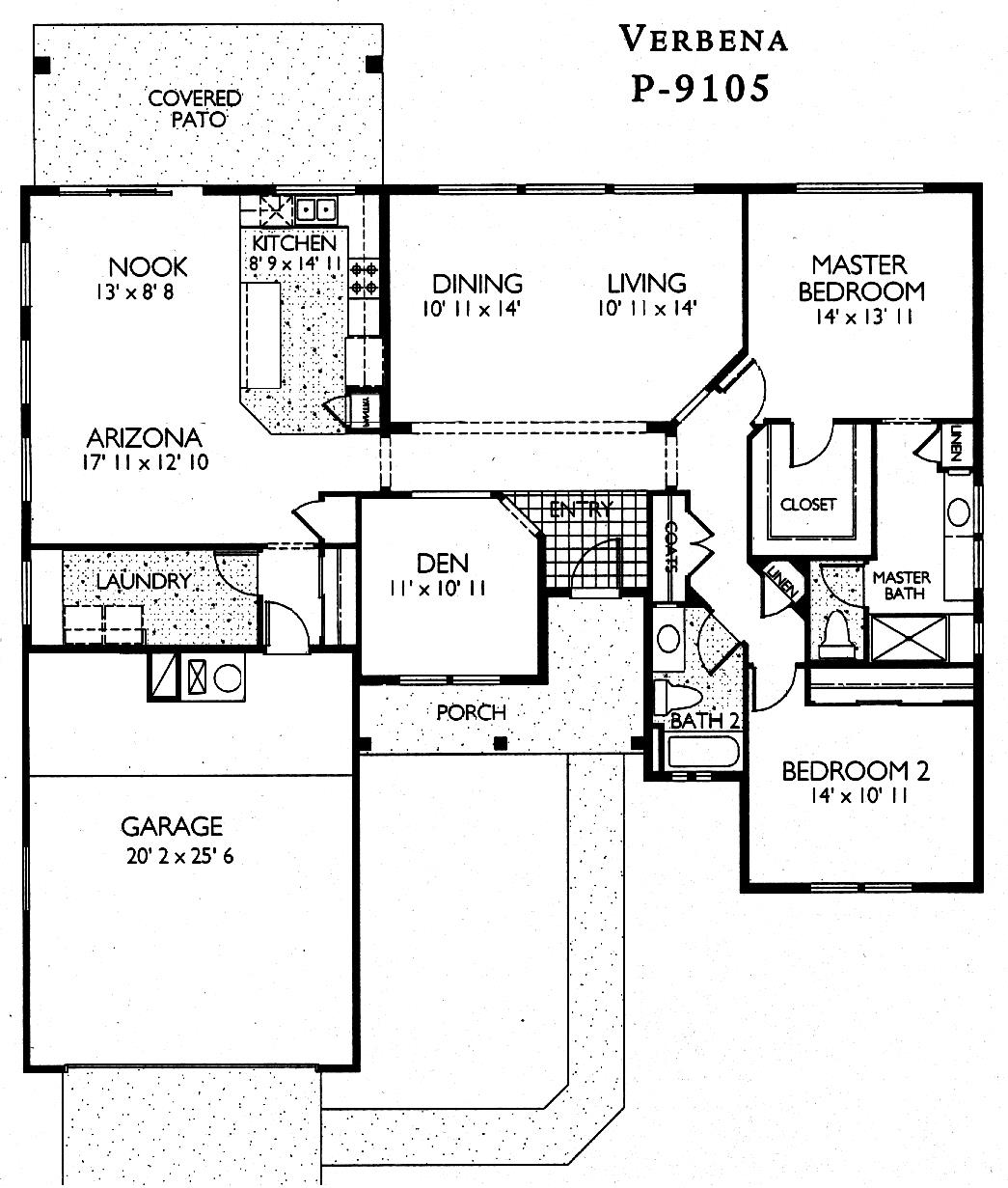 Sun City Grand Verbena floor plan, Del Webb Sun City Grand Floor Plan Model Home House Plans Floorplans Models in Surprise Phoenix Arizona AZ Ken Meade Realty Kathy Anderson