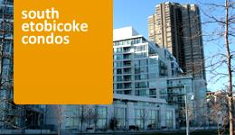 South Etobicoke Condo Search