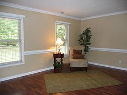 Living Room, After Staging
