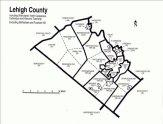 Lehigh County PA Real Estate Map