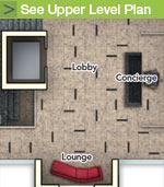 See Upper Level Plan