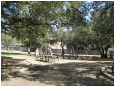 The playground at the Forest Creek Community Center.