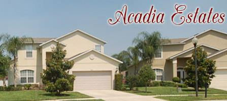 Acadia Estates Kissimmee Homes For Sale
