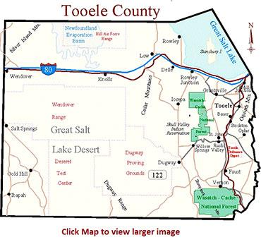 Tooele County Map