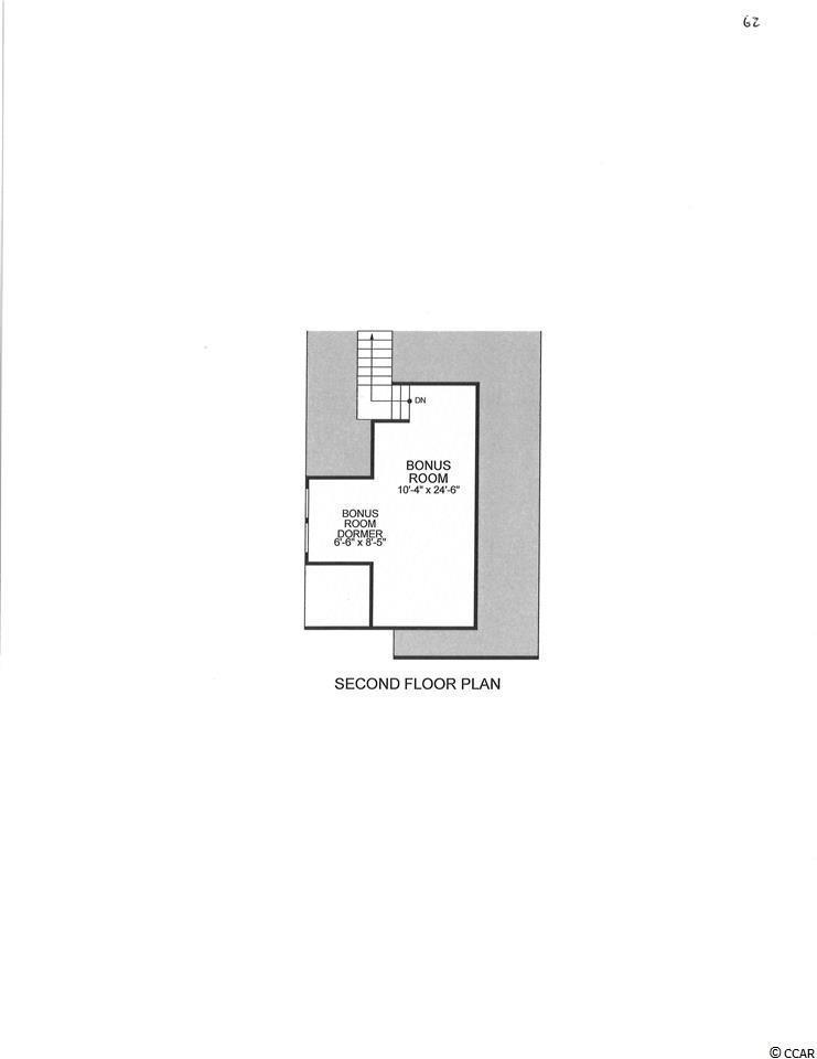 upstair bonus room for a house at Sago Plantation