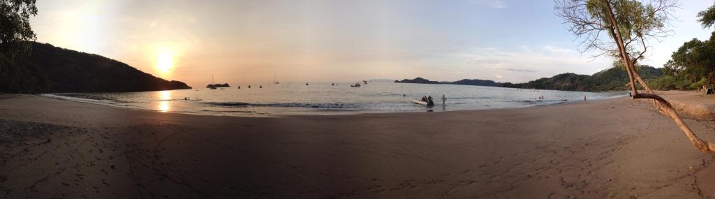 Panoramic Playa Hermosa Sunset
