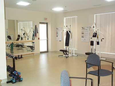 Amica Place condominium 4640 Kimbermount Ave exercise room