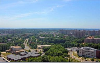 Skyline Plaza View from the Deck,  Falls Church, 22041, 3701-3705 George Mason Dr.