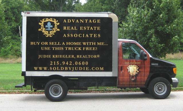 My Clients Can Use This Truck FREE When They Buy or Sell a Home With Me!