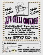 ANNUAL CHILI COOKOFF Rocky Point Real Estate - John Walz - Realtor