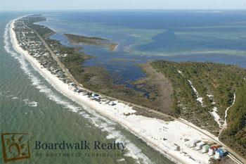 The Cape San Blas Peninsula
