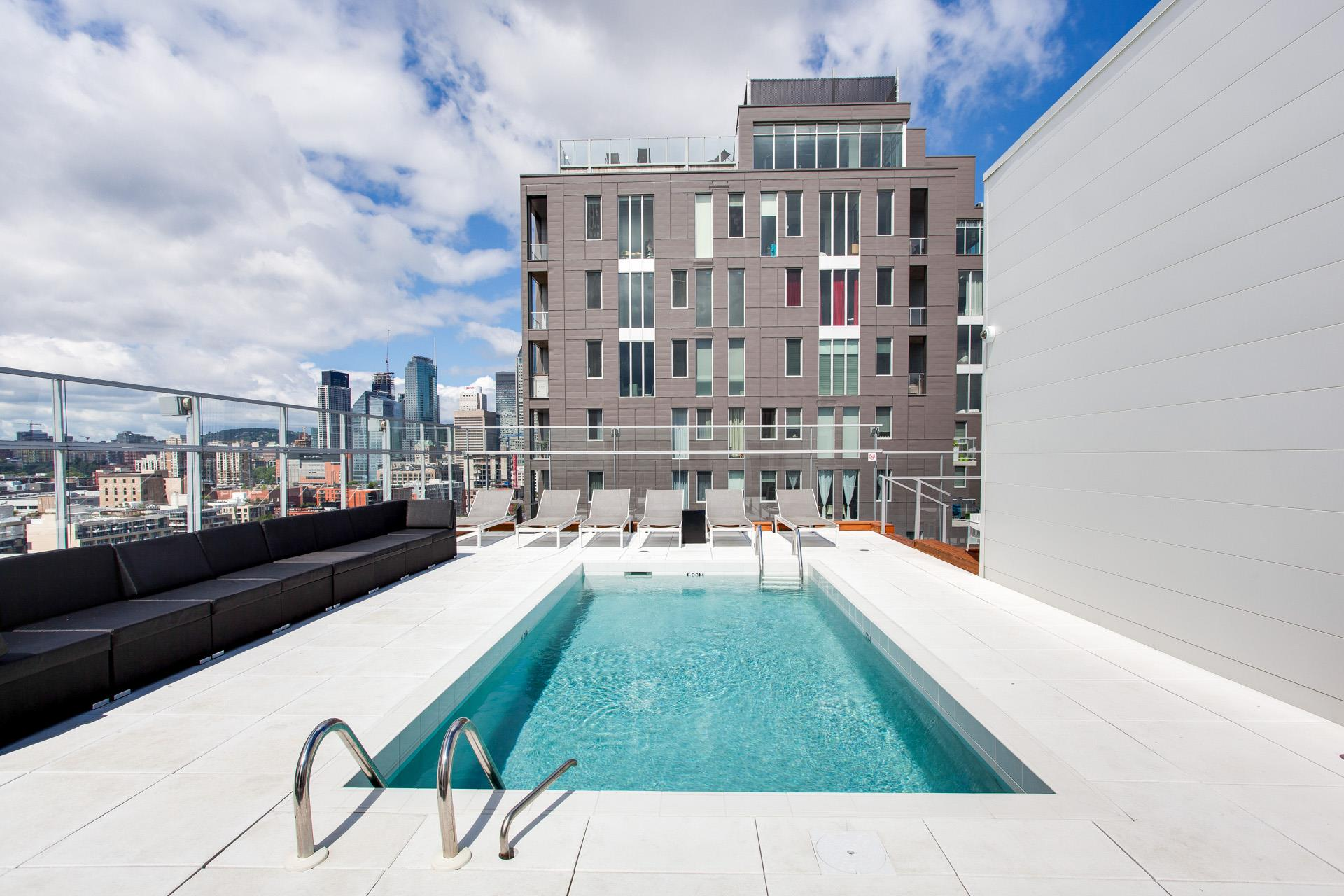 The superb rooftop pool of the M9 Phase3 Condos. Marie Paule Lancup, Realtor