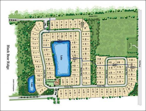 Black Bear Ridge Naples Fl site plan