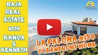 Ocean View Home for Sale in San Antonio del Mar