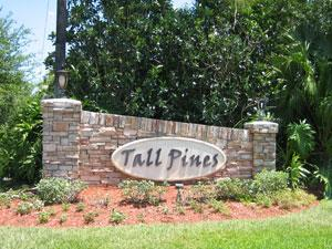 Tall Pines Naples Fl community sign