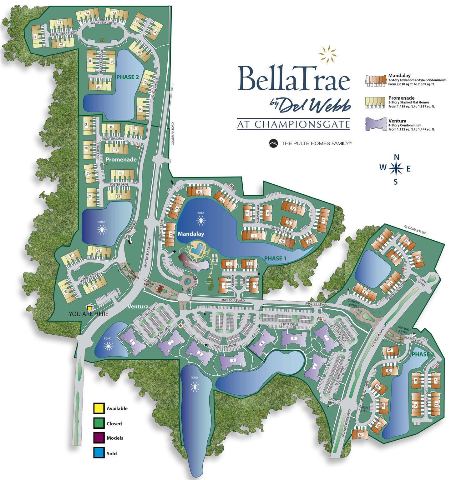 Bella Trae Sitemap