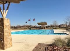 The pool at the Blanco Vista community center.