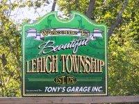 Lehigh Township in Lehigh Valley, PA