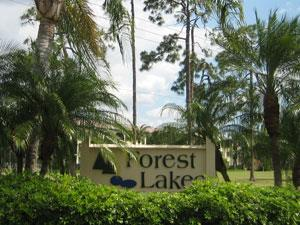 Forest Lakes Naples Fl sign